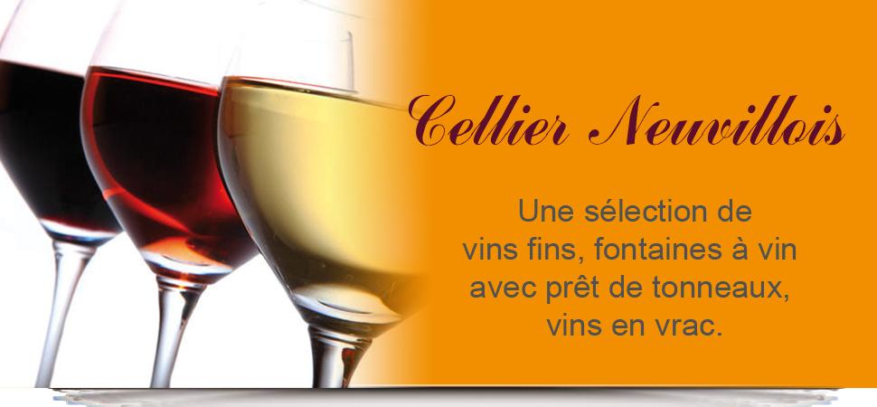Vons Fins, Fontaine à vins avec prêt de tonneaux, vins en vrac.